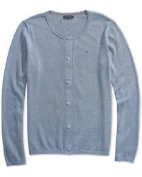 Tommy Hilfiger - Marilyn Cardigan With Magnetic Buttons - Lyst