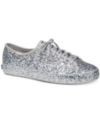 Kate Spade - Keds For Kickstart Lace-up Trainers - Lyst