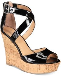 Material Girl - Steffy Platform Wedges, Created For Macy's - Lyst