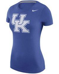Nike - Kentucky Wildcats Scoop Logo T-shirt - Lyst