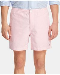 9e84072a496cb Lyst - Polo Ralph Lauren Polo Relaxed Fit Rugged Bleecker Shorts in ...