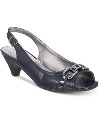 Karen Scott - Arlena Slingback Peep-toe Pumps, Created For Macy's - Lyst