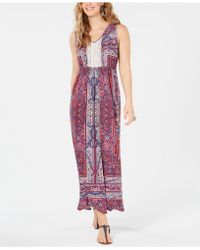Style & Co. - Crochet Bib Maxi Dress, Created For Macy's - Lyst