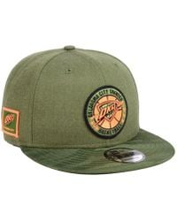 002ba54a KTZ Indiana Pacers Tip Off 9fifty Snapback Cap in Green for Men - Lyst