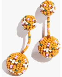 Madewell - Beaded Party Earrings - Lyst