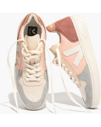 Madewell - Vejatm V-10 Sneakers In Colorblock - Lyst