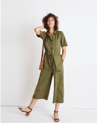 Madewell - Wide-leg Utility Jumpsuit - Lyst