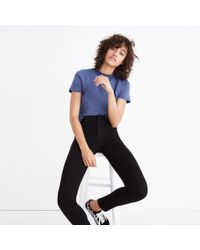 Madewell - Tall Roadtripper Jeans In Bennett Black - Lyst