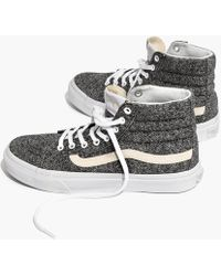 88de7af27eb Madewell - Vans® Unisex Sk8-hi High-top Sneakers In Marled Fabric -