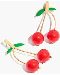 Madewell - Cherry Drop Earrings - Lyst