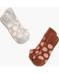 Madewell - Two-pack Big Dots Low-profile Socks - Lyst