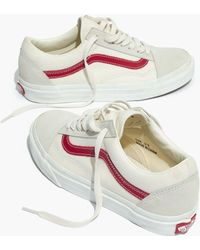 Madewell - Vans Unisex Old Skool Lace-up Trainers - Lyst