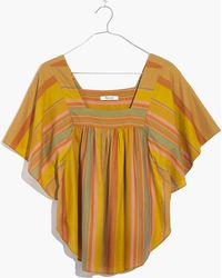 Madewell | Striped Butterfly Top | Lyst