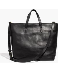 Madewell - The Zip-top Transport Tote - Lyst