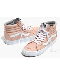 ade7091cea62d8 Madewell - Vans Unisex Sk8-hi Reissue High-top Sneakers In Oxford Pink  Leather