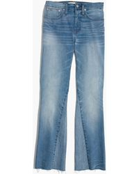 Madewell - Tall Cali Demi-boot Jeans: Inset Edition - Lyst