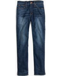 Madewell | Taller Slim Straight Jeans In William Wash | Lyst