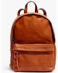 Madewell - The Lorimer Backpack - Lyst