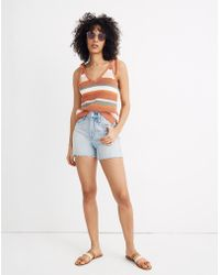 Madewell - The Perfect Vintage Short In Fitzgerald Wash - Lyst