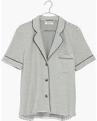 Madewell - Knit Bedtime Pyjama Top - Lyst