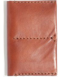 Madewell - Leather Passport Case - Lyst