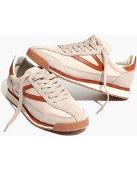 5e69a8498e Madewell - X Tretorn Rawlins3 Sneakers - Lyst