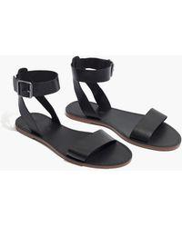 Madewell - The Boardwalk Ankle-strap Sandal - Lyst