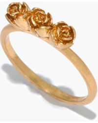 Madewell - Flower Bud Ring - Lyst
