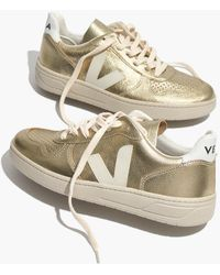 Madewell - Veja V-10 Trainers In Colorblock - Lyst