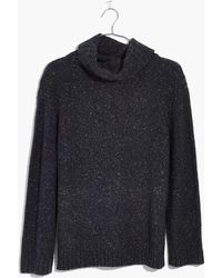 Madewell - Flecked Turtleneck Jumper - Lyst
