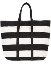 Zilla - Stripes Towel Moldable Bag Shopper - Lyst