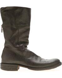 Fiorentini + Baker - Black Leather Ella Eternity Boot - Lyst