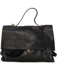 Campomaggi - Black Leather Briefcase Bag - Lyst