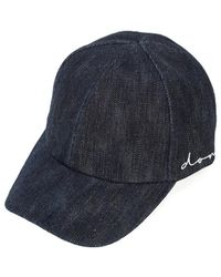 Don - Indigo Denim Don Logo Cap - Lyst