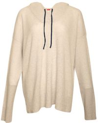 """Duffy - Lhg/dusk """"d81205"""" Cashmere Pullover Hoodie - Lyst"""