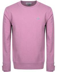 Vivienne Westwood - Crew Neck Sweatshirt Purple - Lyst