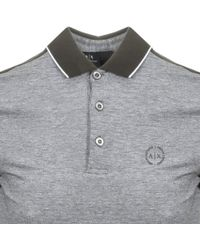 4e494253 Lyst - Fred Perry Slim Long Sleeve Polo Shirt Two Tone Tipped Pique ...