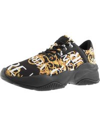 Versace Jeans Couture Extreme Logo Sneakers Black