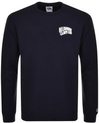 BBCICECREAM - Billionaire Boys Club Arch Logo Sweatshirt Navy - Lyst