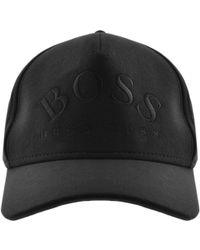 beffd92e6208bb BOSS Athleisure Logo 3 Baseball Cap Black in Black for Men - Lyst