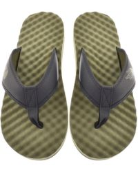The North Face - Base Camp Flip Flops Green - Lyst