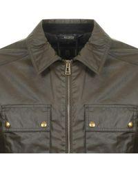 Belstaff - Dunstall Jacket Green - Lyst