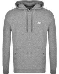 7a7198a89 Nike Club Overhead Hoodie in Blue for Men - Lyst