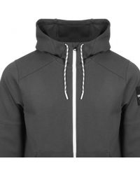The North Face - Fine 2 Full Zip Hoodie Grey - Lyst
