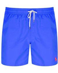 Ralph Lauren - Traveller Swim Shorts Blue - Lyst