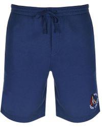 Ralph Lauren - Jersey Shorts Navy - Lyst