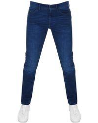 BOSS Athleisure - Boss Green Delaware Slim Fit Jeans Blue - Lyst