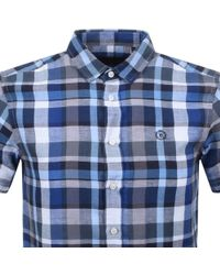 Henri Lloyd - Lightford Check Regular Shirt Navy - Lyst