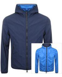 Colmar Reversible Hooded Jacket Navy - Blue