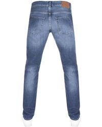 BOSS Athleisure - Boss Green C Delaware Slim Fit Jeans Blue - Lyst